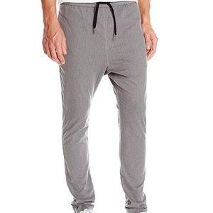 Zanerobe Dropshot Drawstring Chino Pants Grey